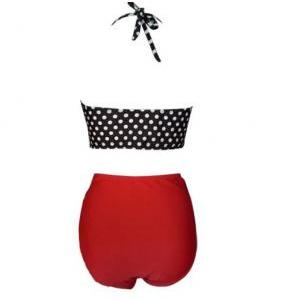 New Women High Waist Swimsuit Swimw..