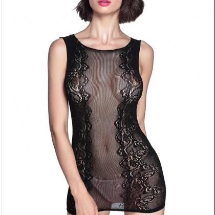 Hot Sale Sexy Lace Hollow Sleepwear..
