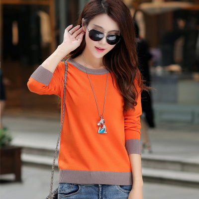 Fashion Women Slim Pullover Knitted Casual Top Sweaters 3 colors