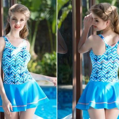 Hot Sale Striped Swimsuit Bodysuit ..