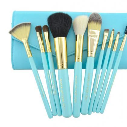 10 PCS Professional Makeup Brush Se..