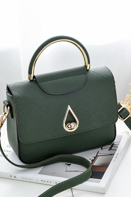 Women Shoulder Mini Bag New Leather Fashion Small Handbag - Green
