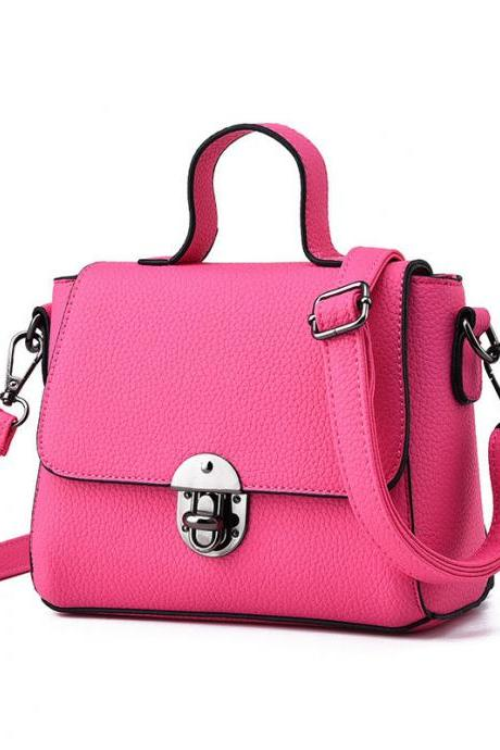 New Women Messenger Shoulder Mini Bag - Rose