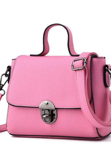 New Women Messenger Shoulder Mini Bag - Pink