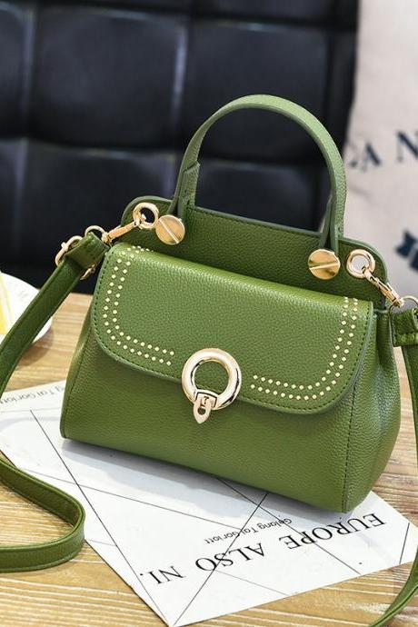 Fashion Mini Women Handbag for Girls Women's Shoulder Bag Crossbody Women Chain Bag - Green