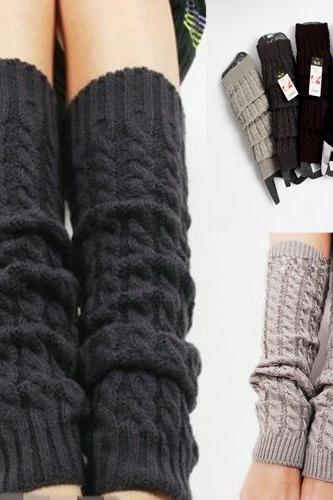 Hot Sale,Women's Fashion, Winter warmer, Knitting , Crochet socks, Leg Warmers, Leggings