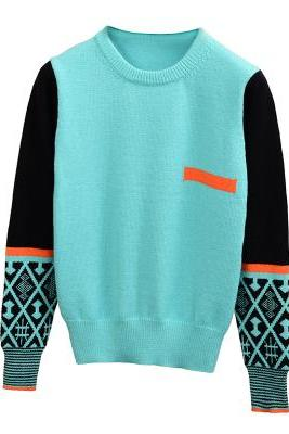 New Fashion style Long Sleeve Sweater