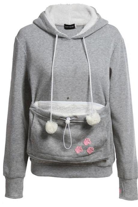 New Fshion Cute Hoodies - Grey
