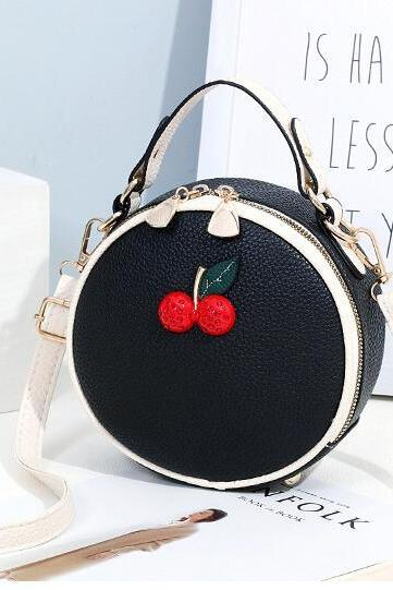 Fashion Cute Women One Shoulder Bag - Black