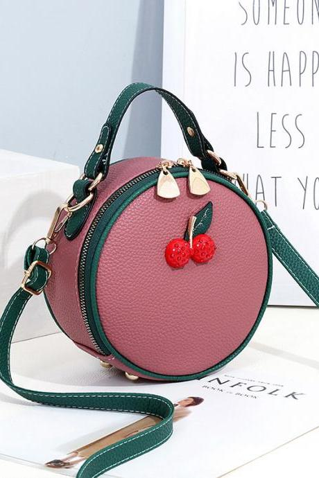 Fashion Cute Women One Shoulder Bag - Pink