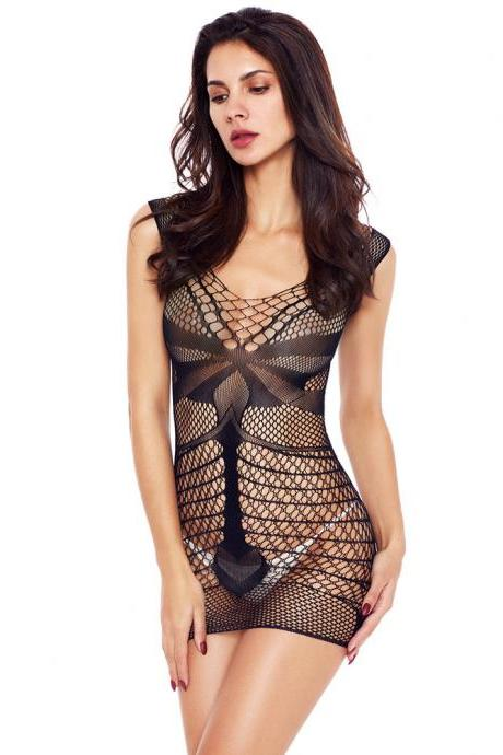 New women sexy lingerie black summer sexy sleepwear