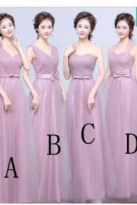 Sweetheart Strapless Long A Line Bridesmaid Dress Wedding Party Prom Gown