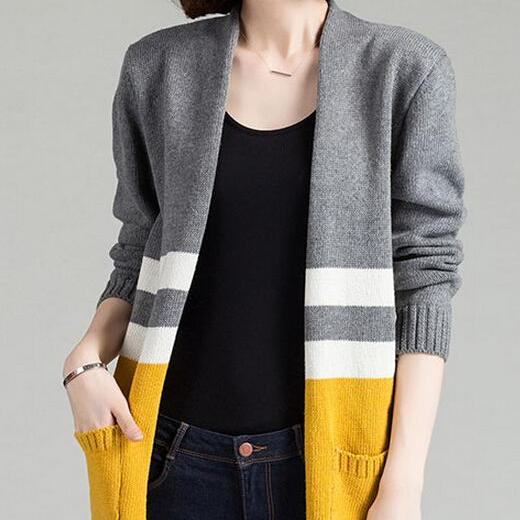 New Winter Spring Cardigans Women Fashion Long Cardigan Sweaters For Ladies