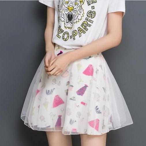 Sweet Fashion Women Skirt